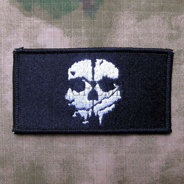 Call Of Duty 10 Ghosts COD10  Morale Military Embroidery Velcro Patch  5 style