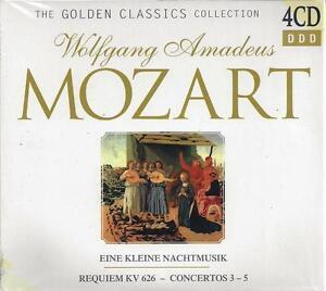 4-CD-Box-Compact-disc-MOZART-COLLECTION-Nuovo-Sigillato-Originale