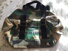 ECU Vintage Gwen Stefani Harajuku Lovers Canvas Camo Tote Bag Purse L.A.M.B.