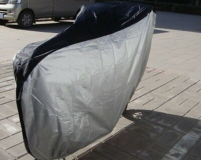 Bike Cycling Rain Waterproof Dust UV Protector Cover Garage Outdoor Scooter LG