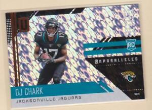 2018-PANINI-UNPARALLELED-FOOTBALL-DJ-Chark-Rookie-Card-Jacksonville-Jaguars