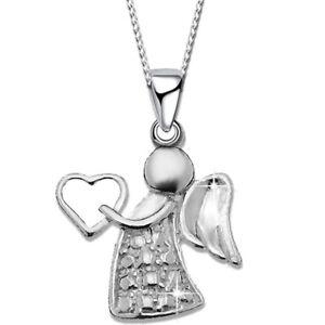 Details Zu Halskette Schutz Engel 925 Echt Silber Für Kinder Damen Taufe Schmuck 40cm