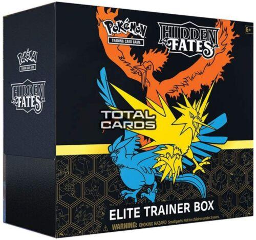 Pokemon Hidden Fates Elite Trainer Box ETB New Sealed Preorder