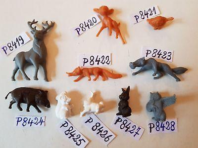 Bambi Figurine publicitaire Le renard Walt Disney La roche aux fées