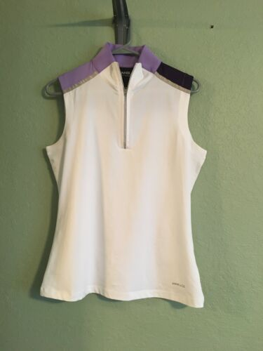 ANNIKA GOLF TOP SIZE S/P