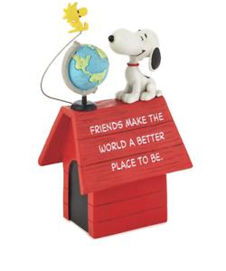 Hallmark-Peanuts-Snoopy-and-Woodstock-Friends-Make-the-World-Better-Figurine-New