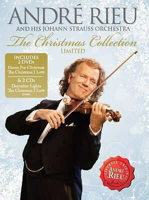 Andre Rieu Johann Strauss Orchestra Christmas Collection 2 DVD + CD - NEW