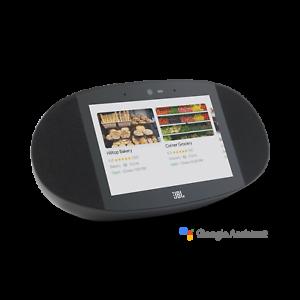 JBL-Link-Ansicht-sprachgesteuerte-KABELLOSE-Smart-Speaker-W-HD-Touch-Demo-Ausverkauf