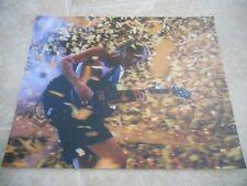 AC/DC Angus Young Live Concert Tour Guitar Color 11x14 Photo #5
