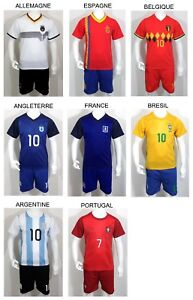 Kit-Short-Maillot-de-Football-Enfant-PAYS-NATION-COUPE-2018-ANTHEM