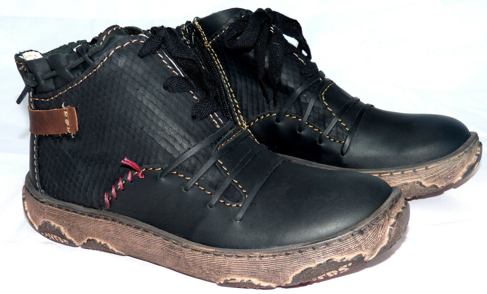 Rovers Damen Stiefelette Gr. 40 schwarz  Boots Leder neu ( bisher 184,90 Euro )