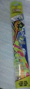 X-Kites-DLX-Deluxe-Nylon-Diamond-26-Inch-GECKO-Lizard-Kite-Fancy-Tail