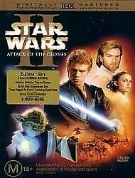 1 of 1 - Star Wars - Episode II - Attack Of The Clones (DVD, 2002) Brand New Sealed 🇦🇺