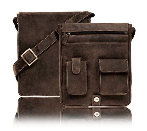 Messenger Bag Borsa a Tracolla Visconti marrone pelle borsa a tracolla Jasper