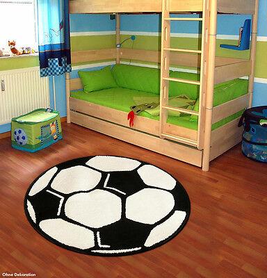 Teppich Läufer FUSSBALL Kinderteppich Spielteppich Kinderzimmer GRÖßENWAHL NEU