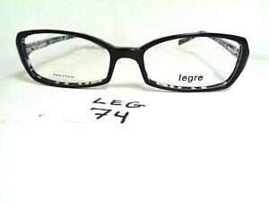 ab6bbf5464 New LEGRE Eyeglasses Frame LE087 col. 607 Black Rectangular Japan ...