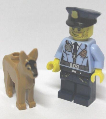 Lego® Figur Polizist mit Hund Police unbespielt Minifig new