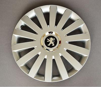"""16"""" Peugeot Partner, Expert, 407,308,... Copricerchi/coperchi, Tappi, Quantità 4-,407,308,... Wheel Trims / Covers, Hub Caps,quantity 4 It-it Tempi Puntuali"""