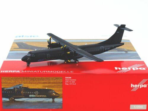 NEU OVP Alsie Express ATR-72-500 Herpa 558396-1:200