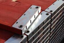 Plettac Bordbrett Bordbretter  Gerüst 2,50m Fußschutz Seiten Bohle  250cm