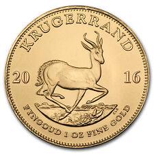 2016 South Africa 1 oz Gold Krugerrand BU - SKU #93862