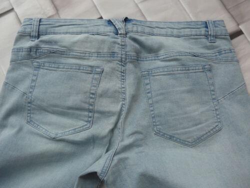 NUOVO 806 44 a 58 BLU Sheego jeans donna 7//8 Pantaloni Caprihose tg