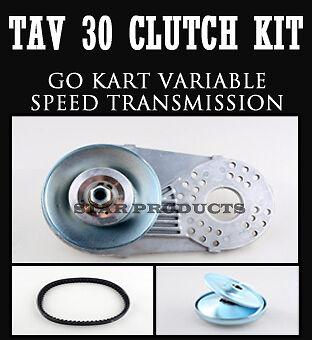 "3/4"" Torque Converter CVT TAV 30 Clutch Replaces Comet Go Kart Ski Winch"