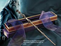 Harry potter dumbledore wand ollivanders box noble ebay for Elder wand display