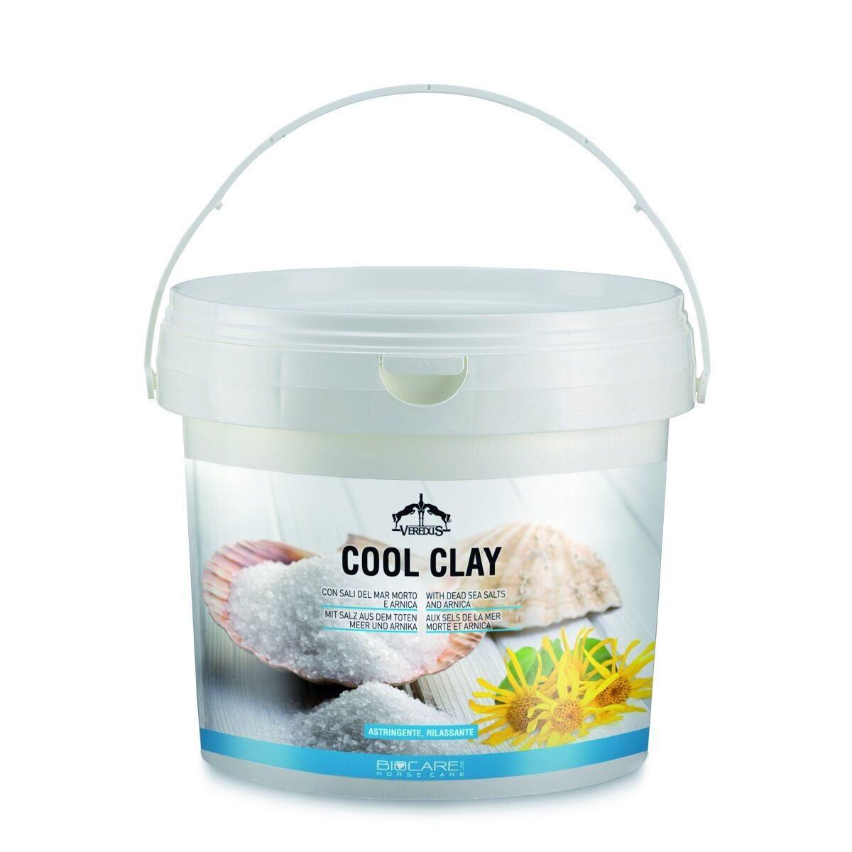 Veredus Bio Care COOL CLAY Arnica Sea Salts Recovery Limbs Legs Muscles Cooling