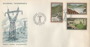 GREECE-1962-FIRST-DAY-COVER-FDC