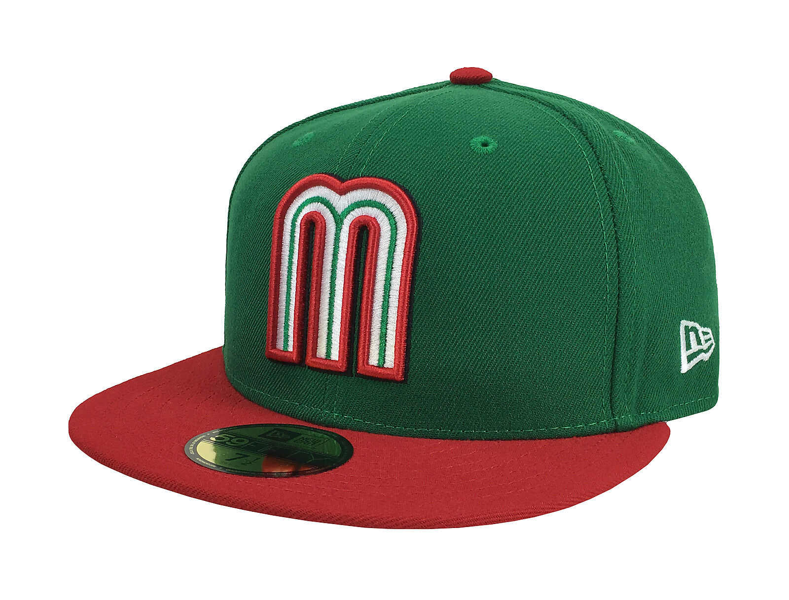 New Color Era 59Fifty WBC 2017 Cap Mexico Official Team Color New Fitted Hat - Green/Red 77707a
