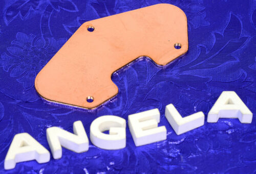 Lindy Fralin Copper Clad Steel Tele Bridge Pickup Plate NEW!