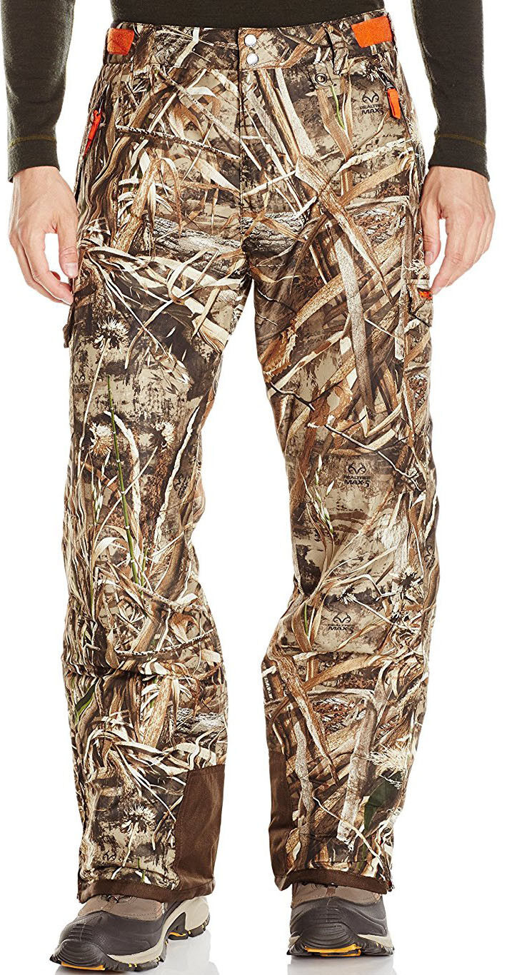 NEW  125 Mens Arctix Realtree Camo  Insulated Cargo Hunting Pants Waterproof  10 days return