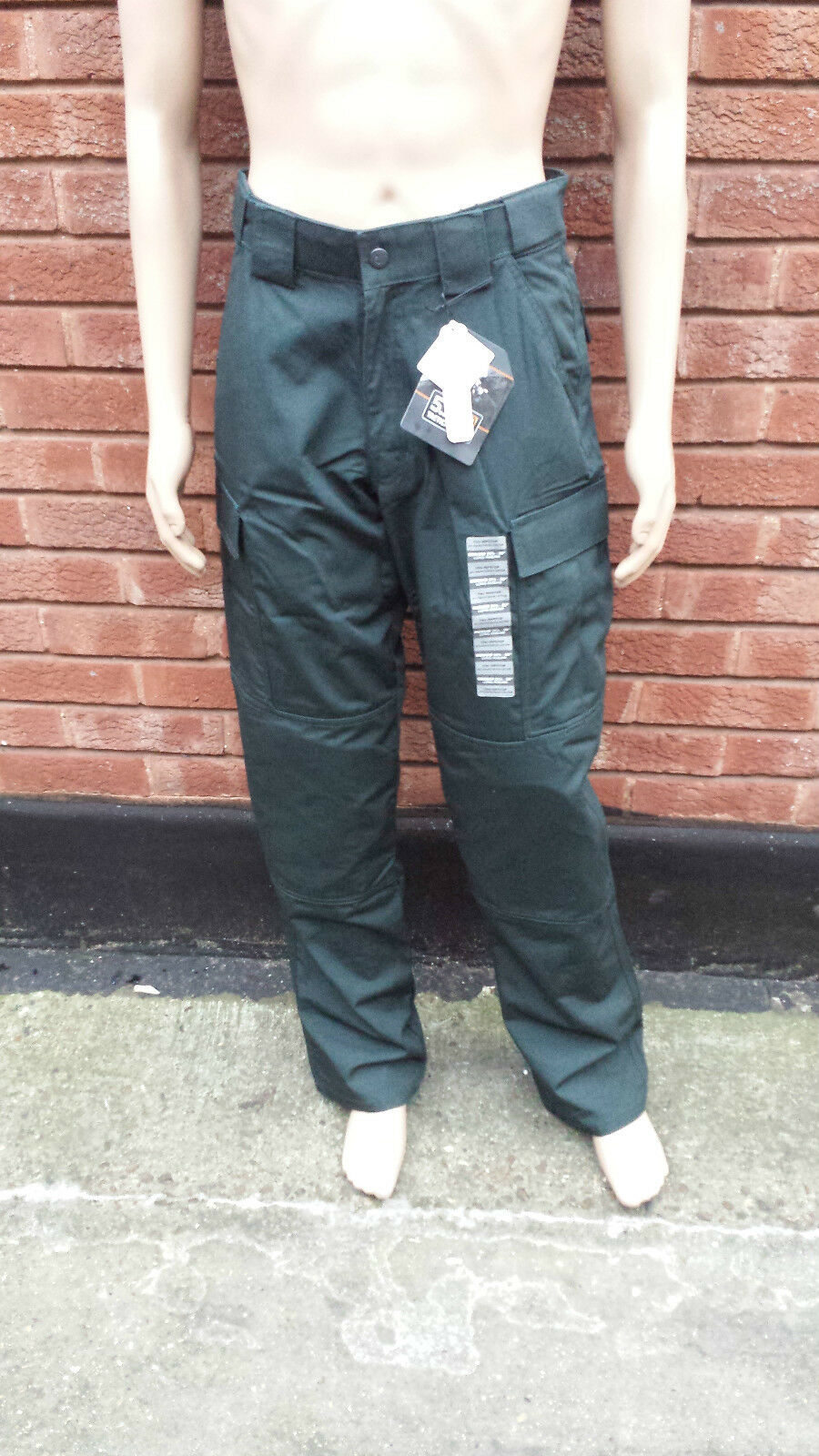 Original Ex Police PSNI 5.11 TDU Ripstop Tactical Trousers With Knee Pads