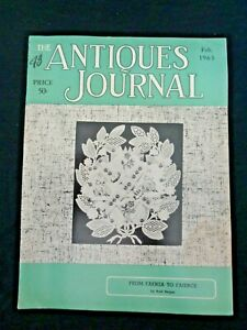 Antiques-Journal-1963-Shell-Cameos-Faience-Rouen-Stasbourg-Maretta-Doll-Museum