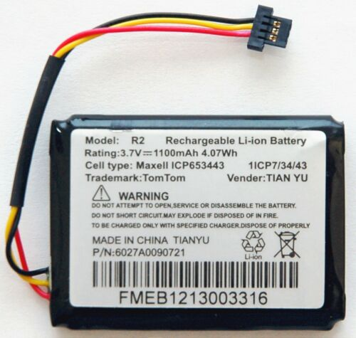 GENUINE TomTom GPS Replacement Battery ONE 130S 140S 140 130 125 S Pro 4000 OEM