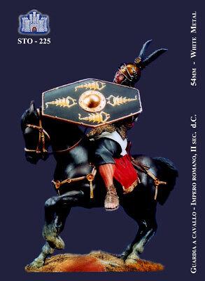 Sweet-Tempered Ss La Fortezza 54 Mm - Pretoriano A Cavallo (ii Secolo D.c.) - Sto-225 Fijn Vakmanschap