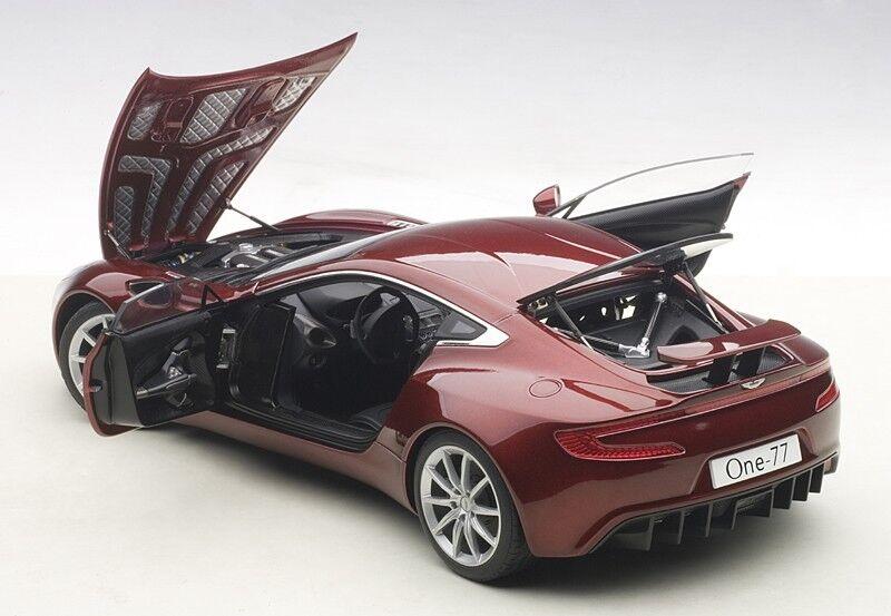 Autoart Aston Martin One-77 Diavolo Rouge en 1 18 Échelle Nouvelle Version