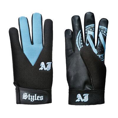 Youth Boys size 2020 T-Shirt Gloves Hat figure Kids WWE AJ Styles Wristbands