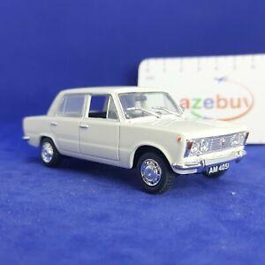 Polski Fiat 125p FSO Poland White Sedan 1:43 Scale Diecast Model Car 1967-1991