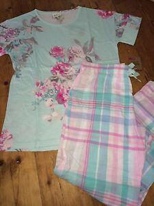 Chèque Pyjama P Rrp Fleur 12 8 P € UK 90 Pzs Joules Et Jess 10 Fleur 54 Gratuit wgI5xqnHA