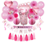 miniature 1 - Complet Premium 31 pièces Baby Shower Décorations Pour Filles Rose Baby Shower Décoration