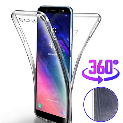 promo code 586a9 5ef93 360 Full Body Case For Samsung Galaxy S8 S9 S10 Plus/S10e A7 Slim Silicone  Cover | eBay