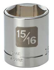 "Brand New USA 12-point 1//2/"" Drive ALLEN 12209 7//16/"" Chrome Hand Socket"