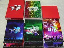 PS CONPANY(Gazette,Alice Nine,miyavi,SuG...) DVD Peace & Smile Carnival / Japan