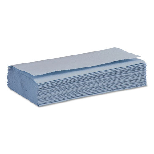 Boardwalk Windshield Paper Towels Unscented 9.125 x 10.25 Blue 250//PK 9 Packs