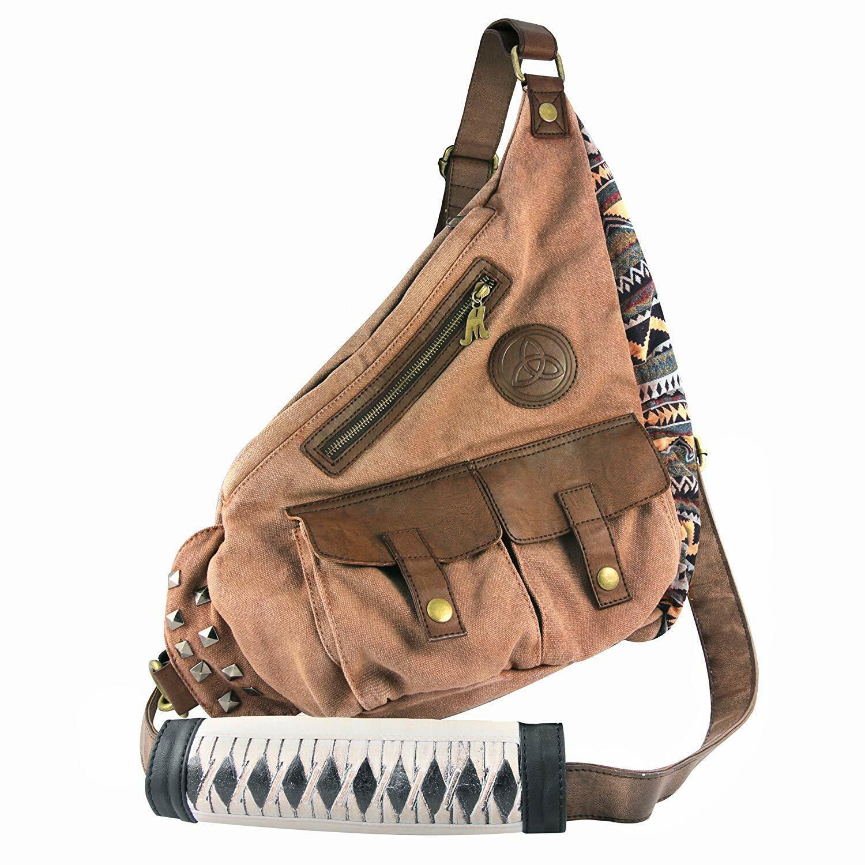 Heavy Duty Michonne Katana Sling Bag Padded Strap Great Gift Item