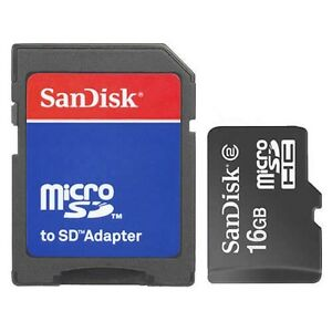 Sandisk-16GB-Class-2-MicroSD-MicroSDHC-SD-HC-SDHC-Flash-Memory-Card-With-Adapter