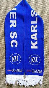 Karlsruher-SC-Schal-scarf-sciarpa-Fussball-Ultras-baden-Hertha-Strassburg-Hansa