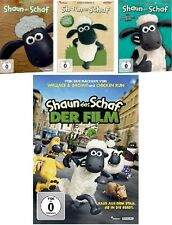 14 DVDs * SHAUN DAS SCHAF - TV-SERIE (BOX 1 - 3) + KINOFILM IM SET # NEU OVP $/